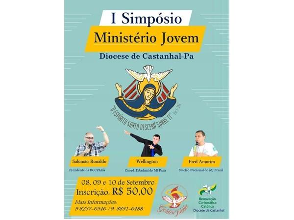 RENOVAÇÃO CARISMÁTICA CATÓLICA DE CASTANHAL REALIZARÁ O SEU 1º SIMPÓSIO DO MINISTÉRIO JOVEM