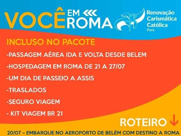 """REGULAMENTO DO SORTEIO """"VOCÊ EM ROMA"""""""